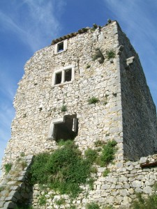 French Stone Tower