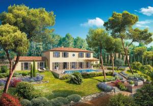 New Build Villa Le Rouret French Riviera