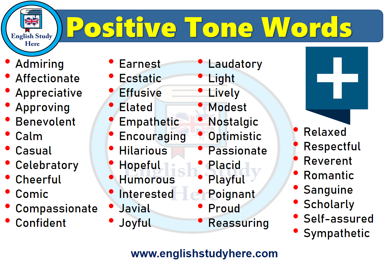 Positive Tone Words