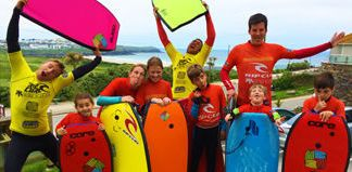 Family Group Surf Lessons