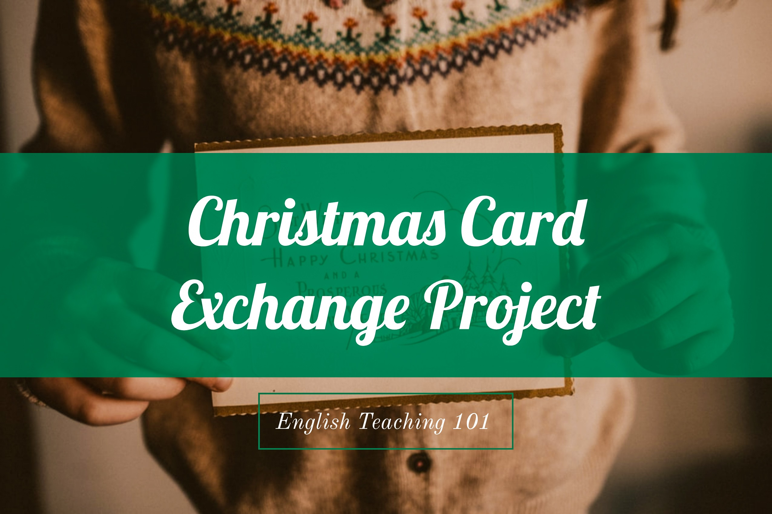 Christmas Card Exchange Project