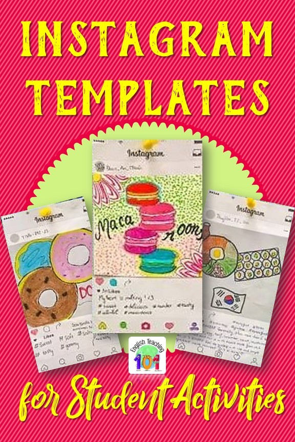 Instagram Templates for Student Activities #InstagramTemplates