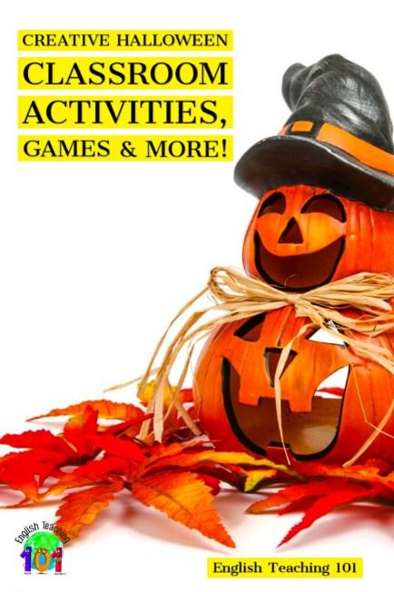 Halloween classroom activities for kids