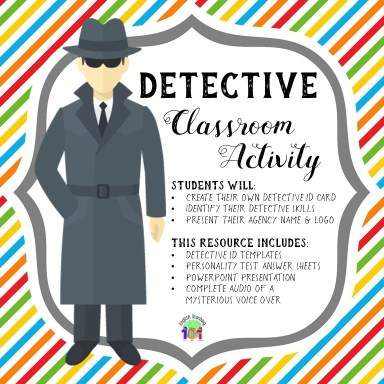 detective classroom activity