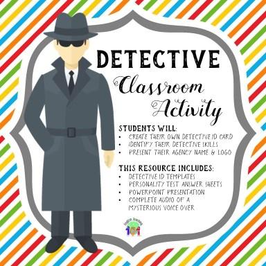 Csi Classroom Activity Solving A Mystery Caseenglish Teaching 101