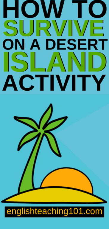 Desert Island Survival Activity