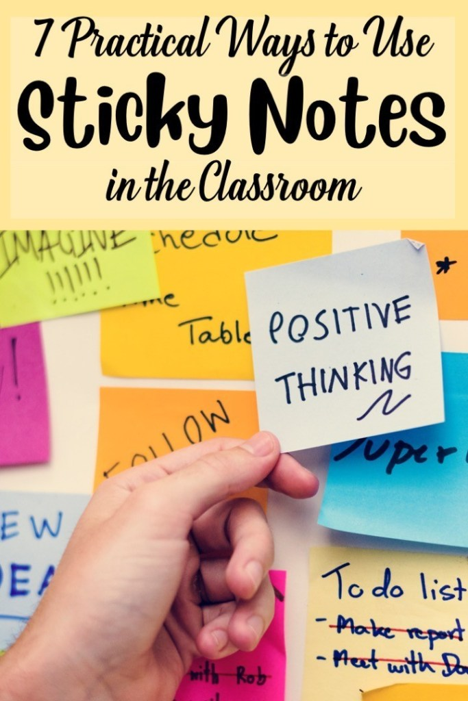 7 Practical Ways to Use Sticky Notes in English Class #stickynotes