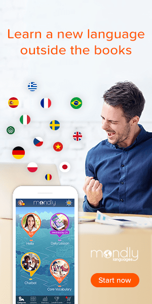 Mondly language learning app