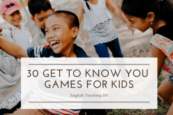 get to know you games for kids
