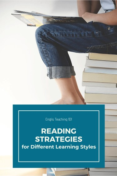 Reading Strategies for Different Learning Styles pinterest