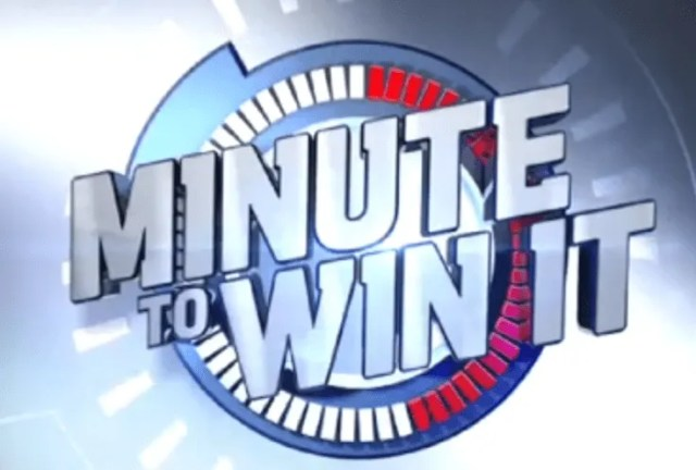 Minute to win it classroom game