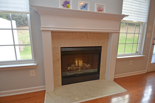 6 Great room fireplace