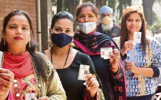 The emerging vote bank of women voters.