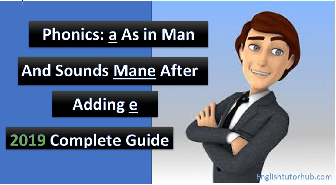 phonics a as in man