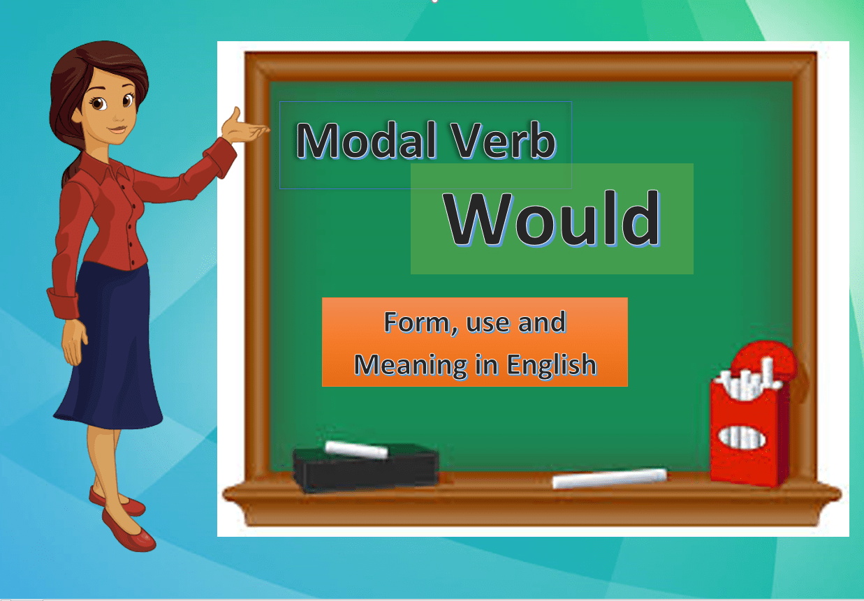 Modal Verb WOULD – Form, use and meaning in English