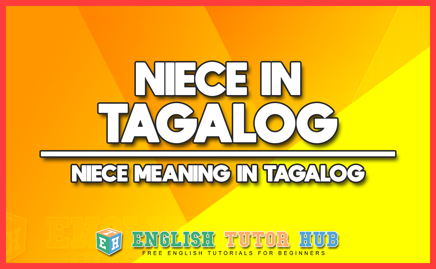 NIECE IN TAGALOG - NIECE MEANING IN TAGALOG