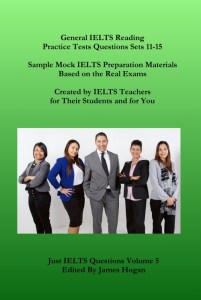 General IELTS Reading Practice Tests Questions Sets 11-15