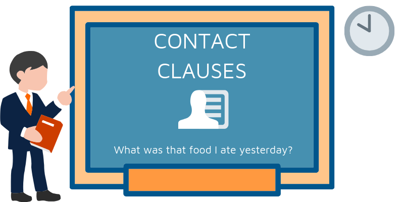 contact clauses