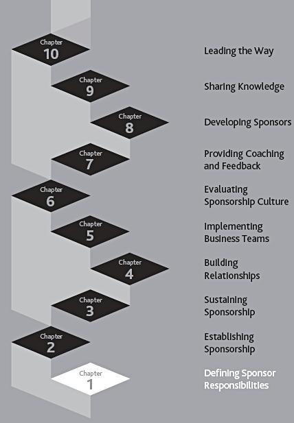 ladder steps for project sponsorship