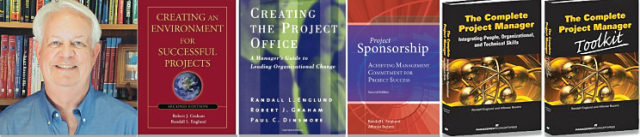 Randall L Englund and the books he co-authored, especially focusing on executive imperatives for improved performance