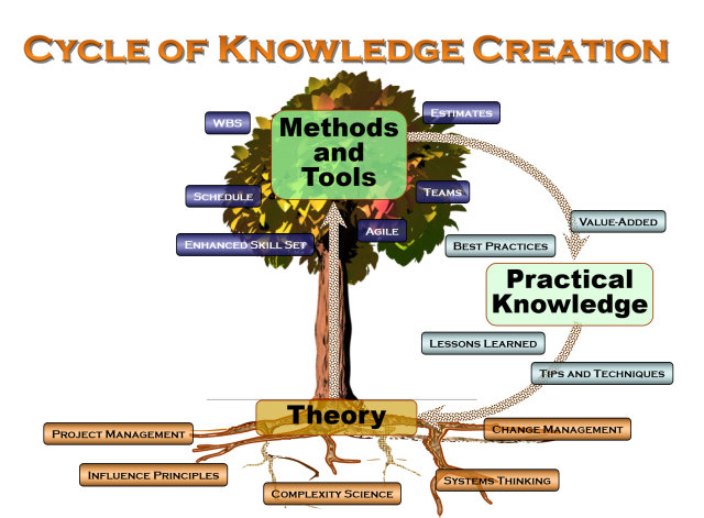 organic cycle of knowledge creation