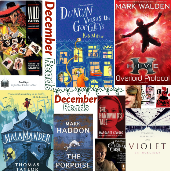 Books read in December 2019