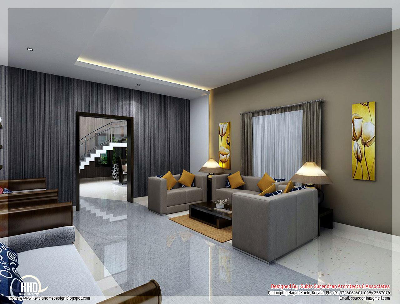 Kerala Living Room Decorating Ideas