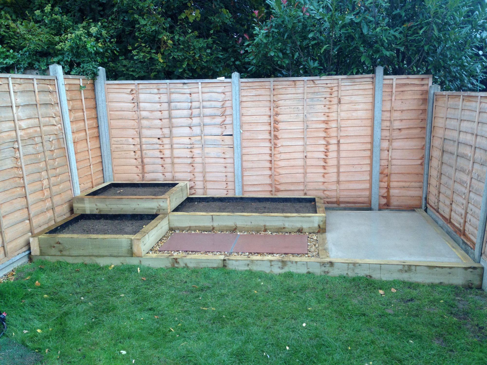 Timber Slat Fence