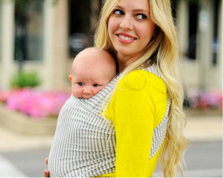 Structural benefits of baby wearing