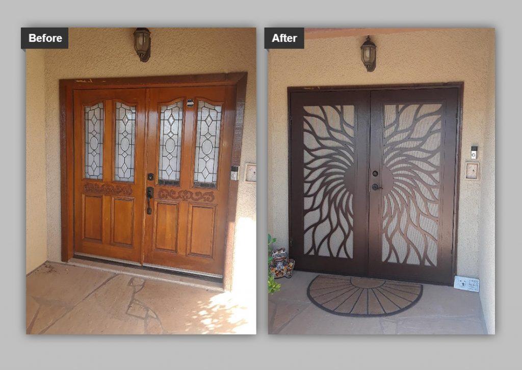 tucson security screen doors security