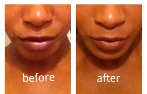 Bare minerals moxie lipstick finish first before and after