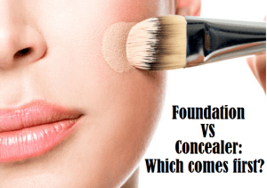 foundation vs concealer