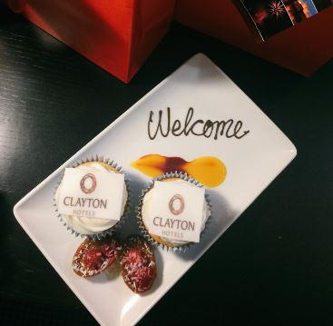 The Clayton Hotel Limerick welcome