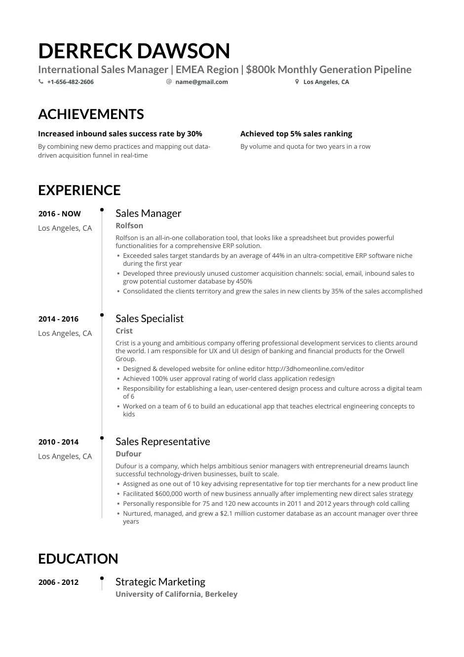 Disclosures, comparative market analysis, pull online property profile. Sales Manager Resume Examples For 2021