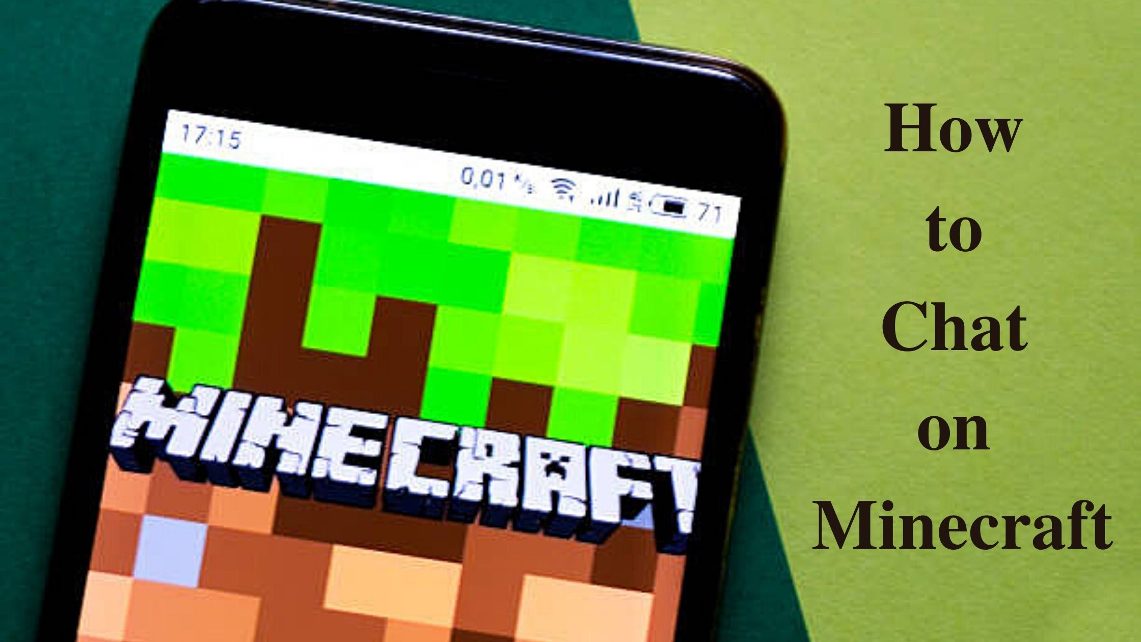 How to chat on Minecraft