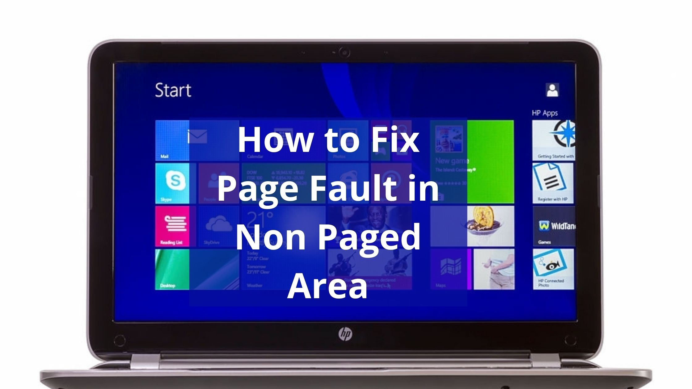 fix page fault in non paged area