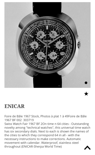 Catalogue with the World Time