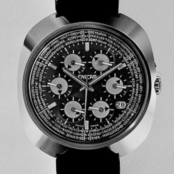 Exploring the Enicar Sherpa World Time 'Kaleidoscope'