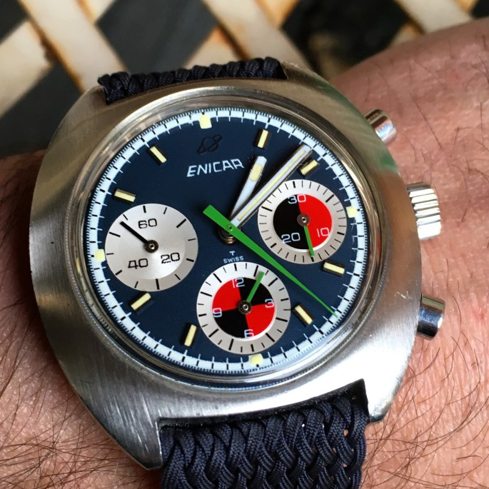 Ocean Pearl with Valjoux 72 movement