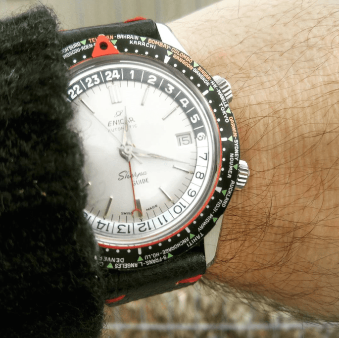 His pride and glory: the white dial MkI