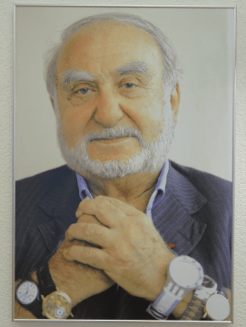 Nicolas Hayek, Mister Swatch who is also Mister Omega