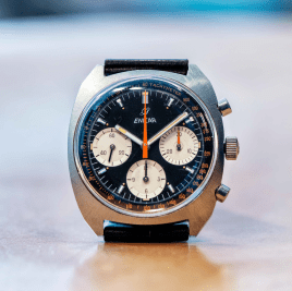 The chronograph that is now known as 'Gerhard Mitter'.