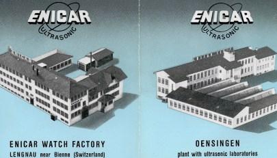brochure Enicar Lengnau Oensingen Ultrasonic