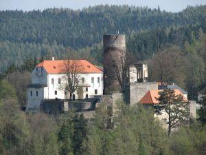 Děsivé přízraky mrtvých na hradě Svojanov