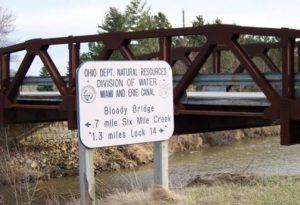 Příběh krvavého mostu vOhiu a muže bez hlavy