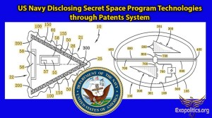 Patentuje si americké námořnictvo technologie mimozemských lodí?