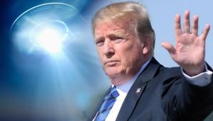 Jsme připraveni na střet s UFO. Snad k němu ale nedojde, oznámil Donald Trump