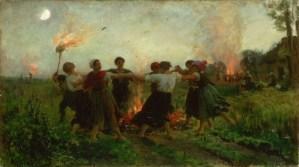 Svatojánská noc: Čarovný oheň plodnosti