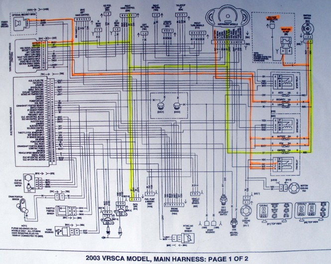 2006 yamaha r1 headlight wiring diagram wiring diagram 2005 yamaha r1 wiring diagram image about