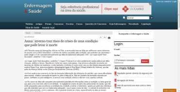 Asma: inverno traz risco de crises de uma condição que pode levar à morte (Enio Rodrigo)